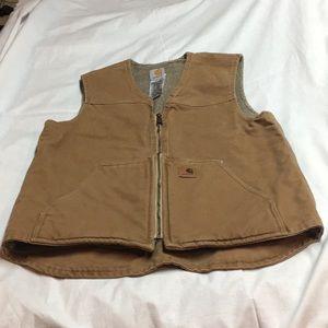 Men's Carhartt vest, fleeced lined